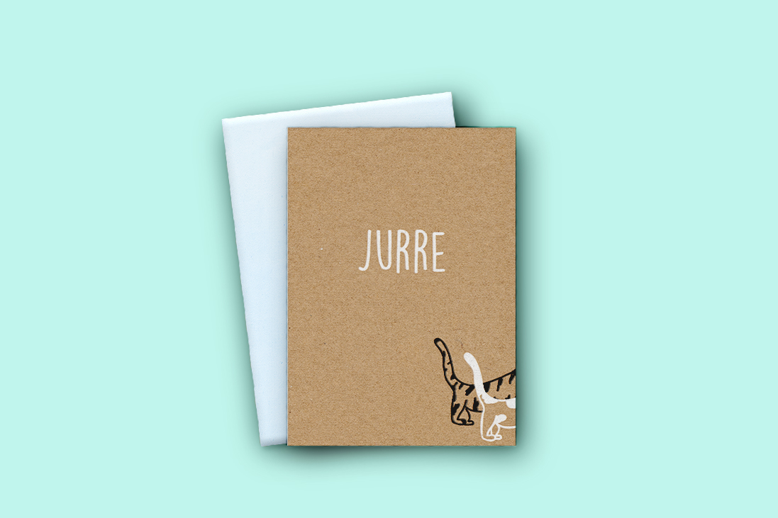 Geboortekaartje Jurre